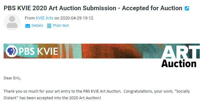 KVIE Art Auction 2020